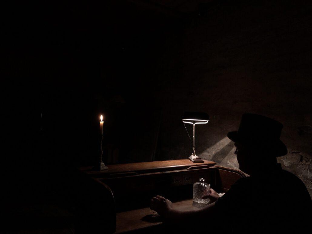 Rotterdam Escape Room Doctor Watsons in een van de onsnappingskamers