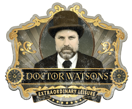 Doctor Watsons Rotterdam Escape Room logo